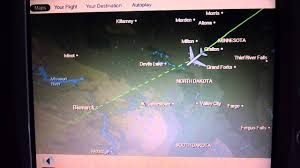 Air France Route Map by Air France A380 Paris To Los Angeles In Economy Full Flight And