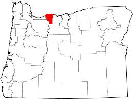The Oregon Map by National Register Of Historic Places Listings In Hood River County