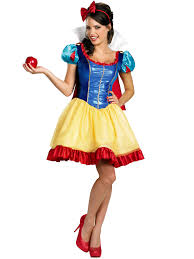 deluxe sassy snow white costume disney princess womens costumes