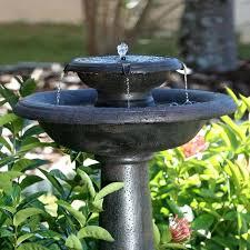 solar fountains with lights solar fountains for the garden retail price solar garden fountains