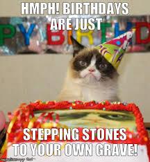 Grumpy Cat Birthday Memes - grumpy cat birthday memes imgflip