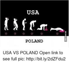 9 Gag Memes - usa poland via 9gagcom usa vs poland open link to see full pic