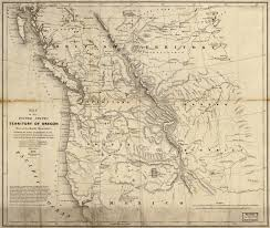 map usa northwest cartography of oregon 1507 1848
