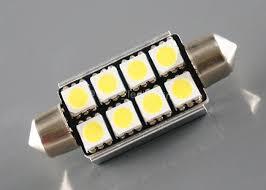 car dome light bulbs vehicle 4w led car dome light bulbs 400lm 6000k 41mm 5050 x 8leds
