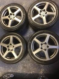 honda accord 2004 tourer alloy wheels and tyres 17 inch 2254517