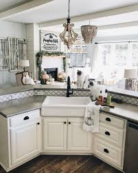 How To Cut A Sink Hole In Laminate Countertop Inexpensive Farmhouse Hacks Diy Concrete Counters And Faux Farm