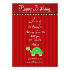 121 best turtle birthday party invitations images on pinterest
