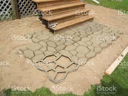 cement stencil stock photo istock