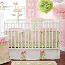 Frog Nursery Decor Baby Bedding Frogs Pixie Baby Bedding In Pink The Frog