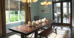 lighting elegant dining room with wooden dining set and crystal