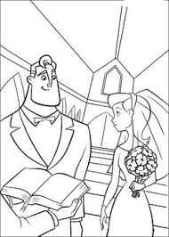 the incredibles wedding band rapunzel wedding coloring papges rapunzel is happy coloring