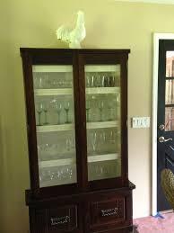 Glass Gun Cabinet Refurbished Gun Cabinet Into Wine Glass Cabinet 50 At A Yard
