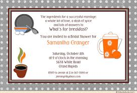 breakfast at s bridal shower kitchen bridal shower invitation cooking themed retro