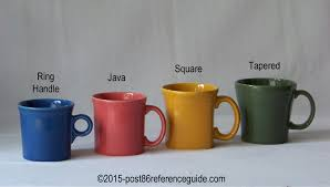 comparison cups mugs saucers post 86 reference guide