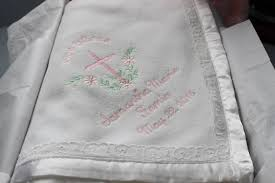 keepsake gifts for baby personalized heirloom baby blanket christening gift baby shower