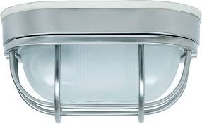 Outdoor Flush Mount Ceiling Light Craftmade Z396 56 Bulkhead Stainless Steel Outdoor Small Flush