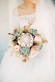 bouquet for wedding a king protea bridal bouquet for a destination wedding chic