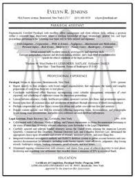 Paralegal Resume Format Examples Of Combination Resume Format Resume Pinterest