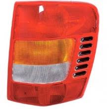 2002 jeep grand cherokee tail light 1999 2002 jeep grand cherokee rear tail light left driver side