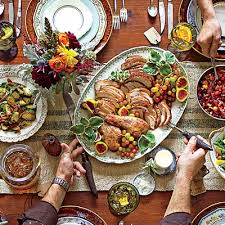 get the menu tried true thanksgiving menu warm and rustic