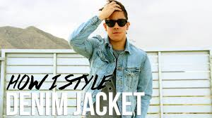 light blue denim jacket mens how to style the denim jacket men s fashion 2015 jairwoo youtube