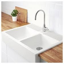 DOMSJÖ Double Bowl Apron Front Sink IKEA - Apron kitchen sink ikea