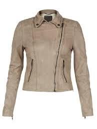 vented leather motorcycle jacket muubaa indus beige leather biker jacket
