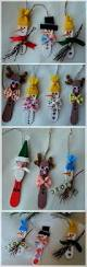 make quick and easy ornaments out of mini wooden ice cream sticks