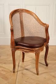 image de bureau brochure fauteuil canné de bureau d époque louis xv estillé