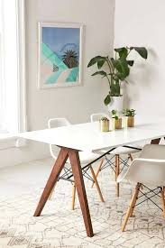 dining room tables modern wood round chairs leather contemporary