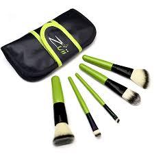 zuii organic vegan makeup brush set organified beauty box