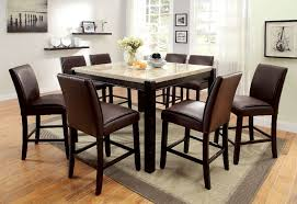 counter height dining room sets buy furniture of america cm3823pt set gladstone ii ivory counter