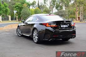 lexus sports luxury car 2015 lexus rc 350 sports luxury rear quarter forcegt com