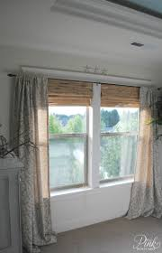 67 best curtains and drapes images on pinterest curtains window don t love the style here but shows inside mounted shades and over