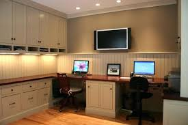 Stylish Home Office Desks Two Person Office Desk Inexpensive Home Ideas White For Popular