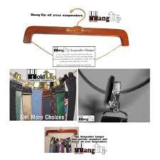 amazon com hold ups patented hang up hardwood suspender hanger
