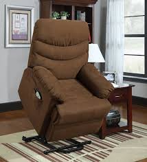 amazon com homelegance elevated 9769br 1lt power lift and recline
