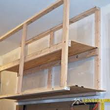 Building Wood Garage Shelves by Garage Overhead Mightyshelves Alternative Hardware Methods