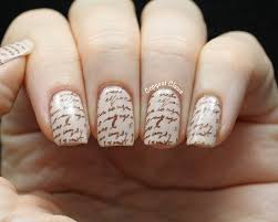 Music Nail Art Design Lacquered Lawyer Nail Art Blog My Beating Heart Love Letter Nail