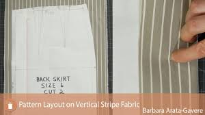 pattern layout on fabric pattern layout on vertical stripe fabric youtube
