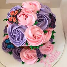 roses and butterflies cupcake the cupcake delivers