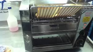 Rotary Toaster The Awesome Conveyor Toaster Youtube