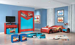 bedroom wonderfull white blue red wood cool design childrens