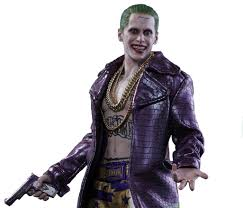 squad deluxe action figures the joker purple coat