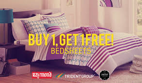 Buy Bed Sheets by Buy 1 Get 1 Free Raymond Bedsheets Paytm Online Shopping Deals