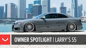 audi s5 modified vossen owner spotlight larry u0027s bagged nardo audi s5 vossen