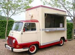 vintage renault coco dining u0027 vintage food truck 2 south downs marquee hire