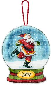 54 best cross stitch snow globes images on