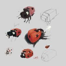 Ladybug Resume Ladybug Exercise Photoshop Practice Ahmad Ajlouny