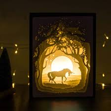 amazon com papercut light boxes night light lamp of creative